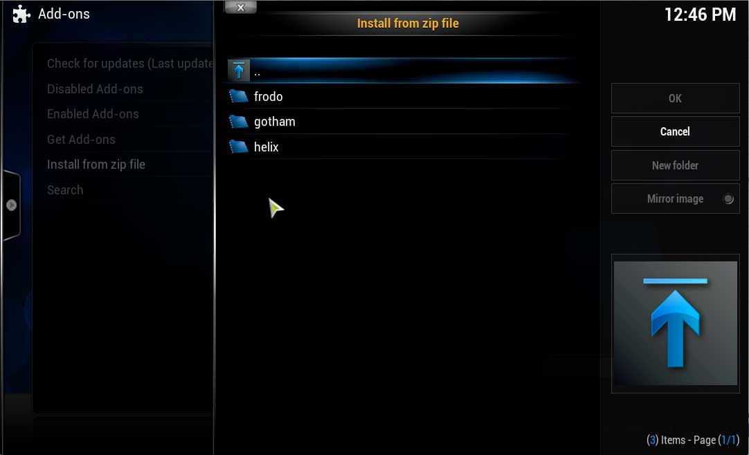 xbmc how to add addons