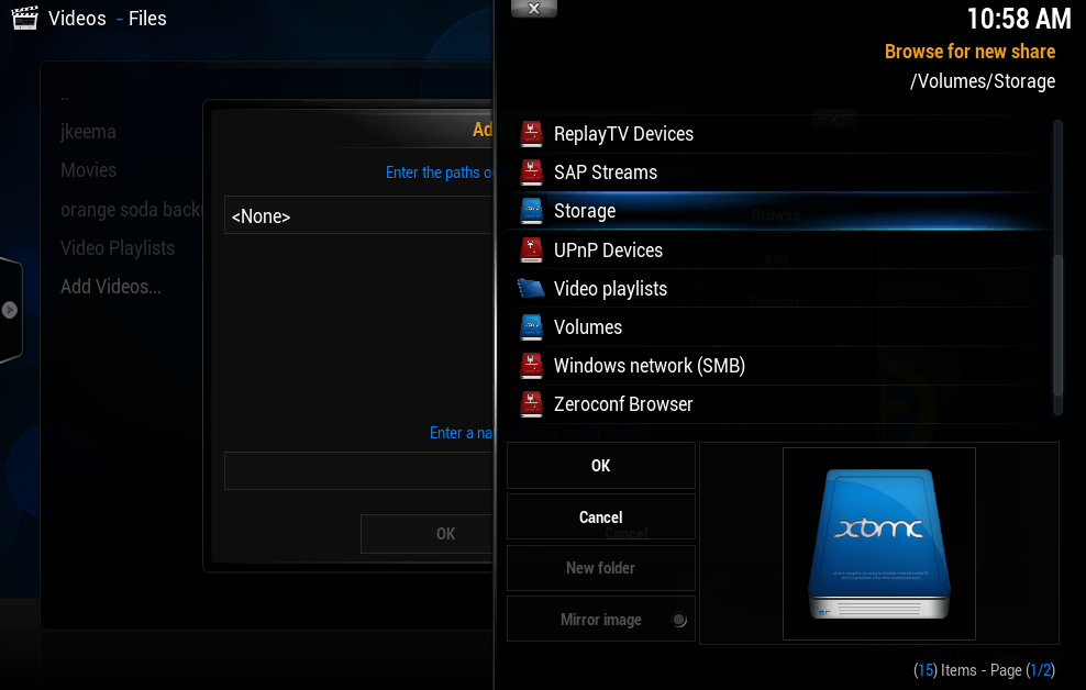 Add On Xbmc Mashup