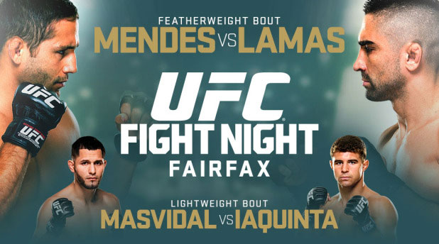 UFC Fight Night 63 FREE Streaming Mendes vs Lamas Kodi XBMC