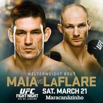 Watch UFC Fight Night 62 Maia vs. LaFlare FREE on Kodi & XBMC