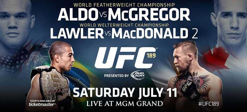 Watch FREE UFC 189 Aldo vs McGregor Live on Kodi & XBMC Stream