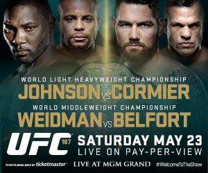 Watch UFC 187 PPV Live and Free With Kodi and SportsDevil