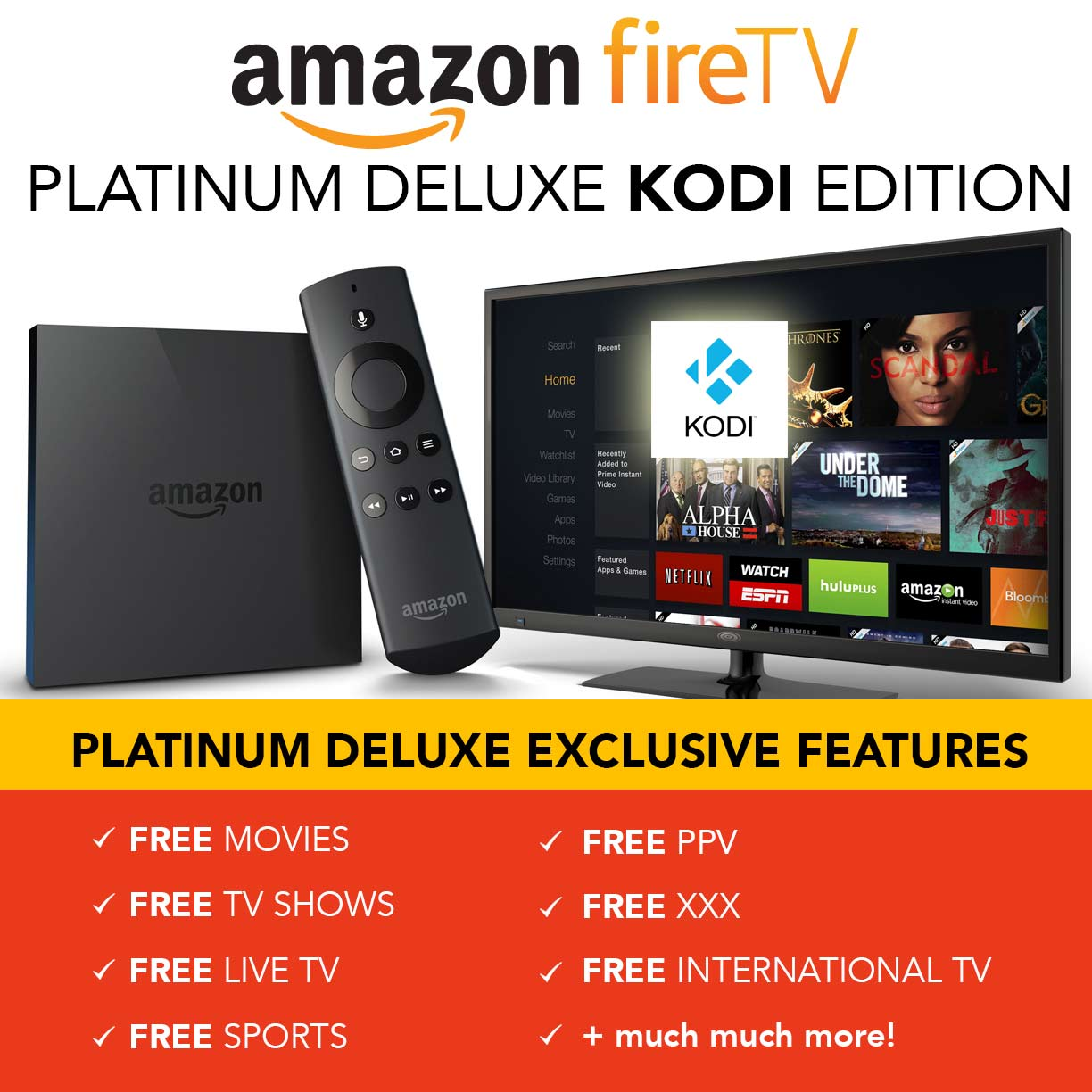 How To Hack Your Amazon FireTV Install Kodi XBMC For Free ...