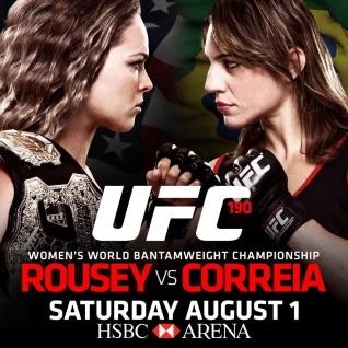 Watch UFC 190 Free Ronda Rousey Live on Kodi XBMC Sportsdevil
