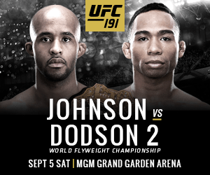 Watch UFC 191 Johnson vs Dodson Live & Free PPV on Kodi
