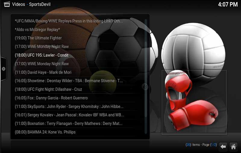 SportsDevil-UFC-195-Stream