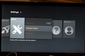 jailbreak amazon firestick with kodi tvmc select developer options