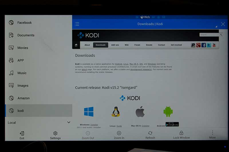 Select the Kodi Android Installer for your Fire TV Stick