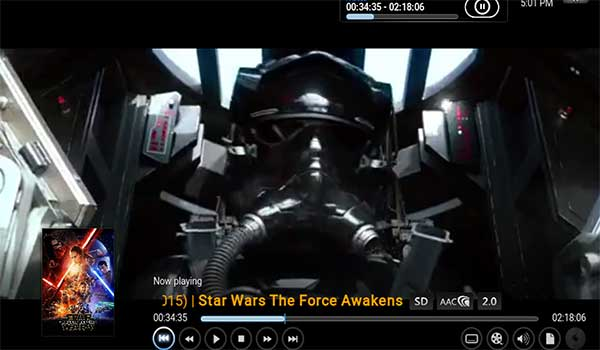 Stream Star Wars Force Awakens on Kodi With 1 Channel