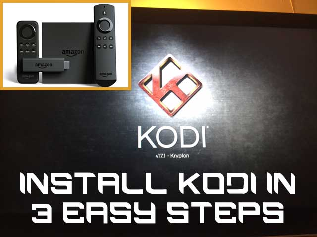 Hack Your Firestick and Install Kodi Krypton