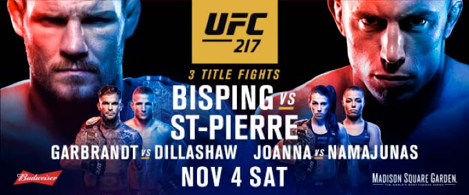 Watch UFC 217 GSP vs Bisping on Kodi Free Streaming - Hack My Apple TV