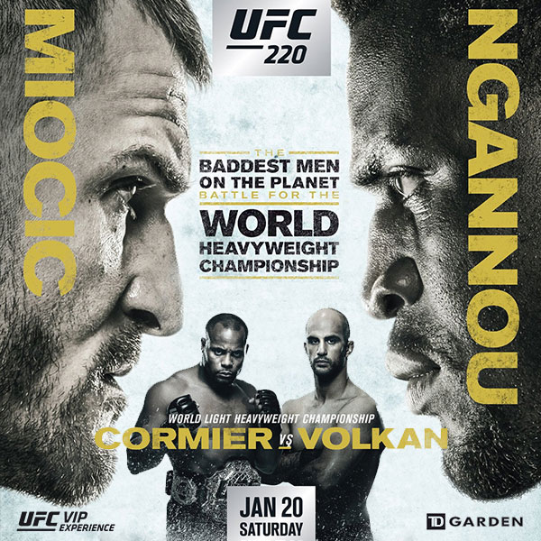 Stream UFC 220 Free on Kodi Miocic Cormier Watch Live