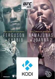 How to Watch UFC 223 Free PPV on Kodi Holloway vs Nurmagomedov