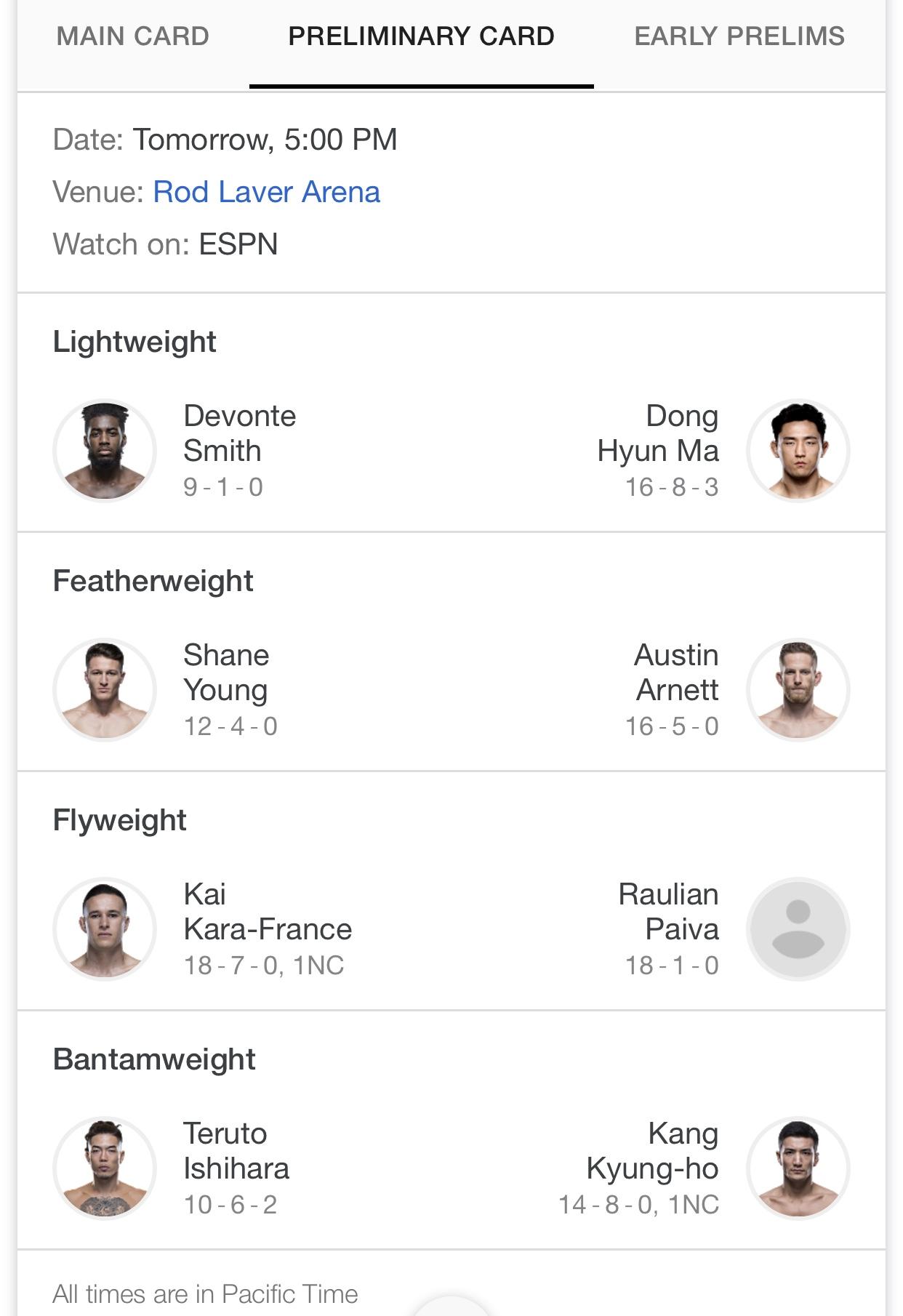 UFC-234-prelim-card-whitaker-kodi-free-streaming