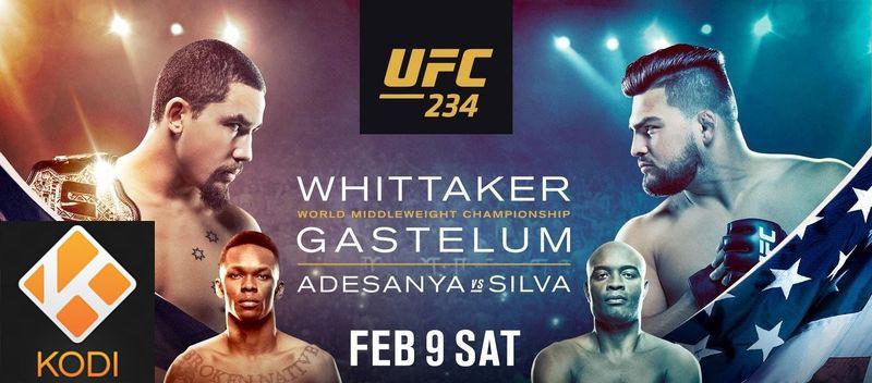 Stream for Free UFC 234 PPV Anderson Spider Silva vs Adesanya Last Airbender on Kodi Firestick